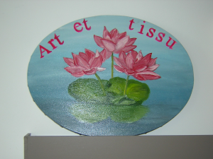 Logo de Corinne Gallouin Art et tissu